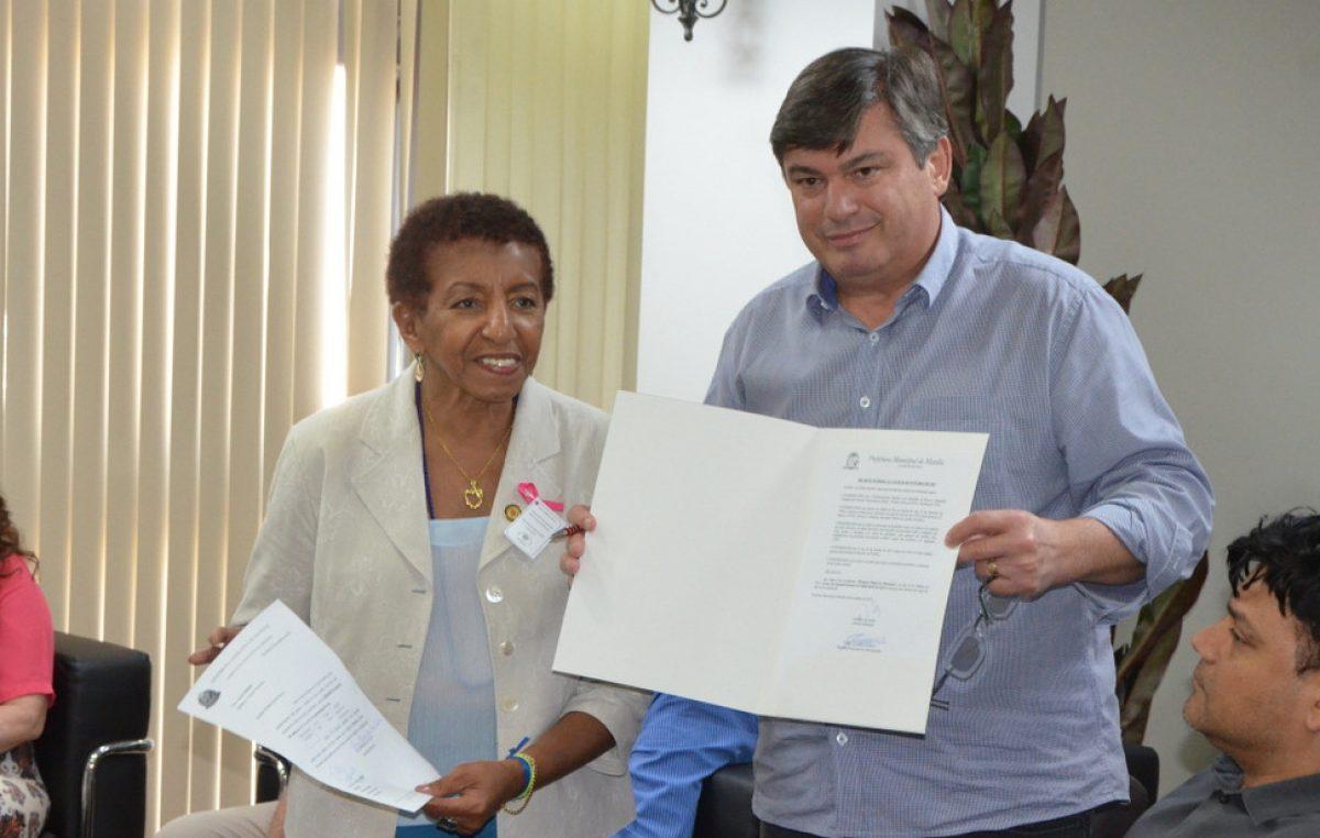 Marília conquista emendas de R$ 210 mil com deputada estadual Leci Brandão