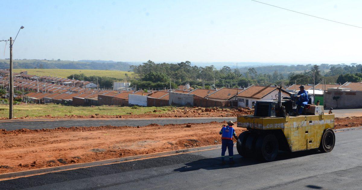 Prefeitura conclui asfalto na interligação de bairros na zona norte