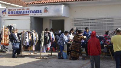 Fundo Social de Solidariedade vai  promover o Bazar Beneficente 2018