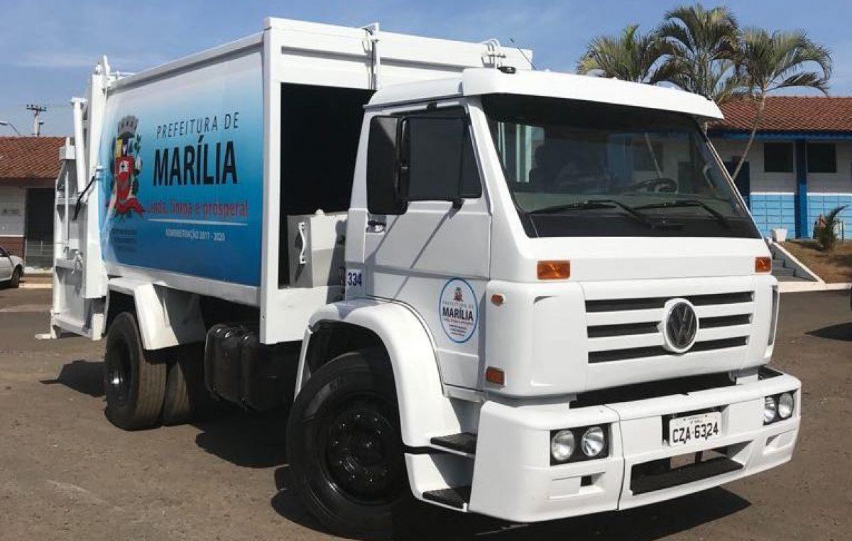 Prefeitura finaliza reforma de mais um caminhão para a coleta de lixo