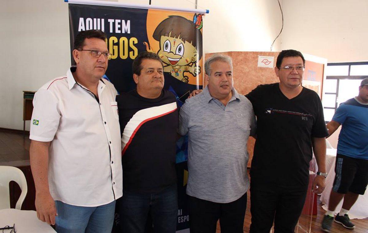 Assis foi confirmada como sede  dos 63º Jogos Regionais em 2019