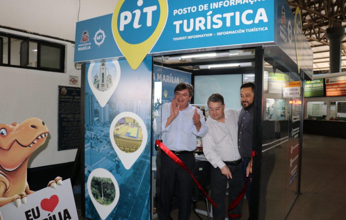 PIT é inaugurado na Rodoviária e  já começa atendimento nesta sexta