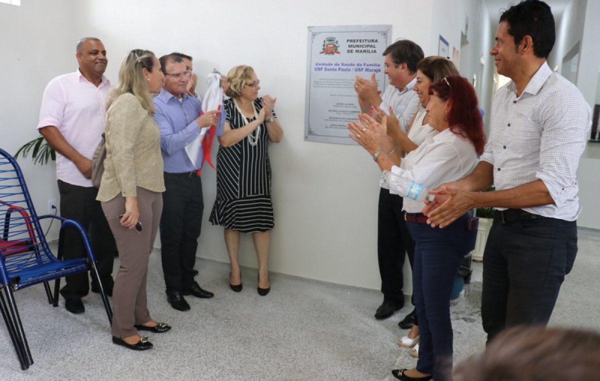 Com grande participação popular, prefeitura entrega USF Santa Paula/Marajó