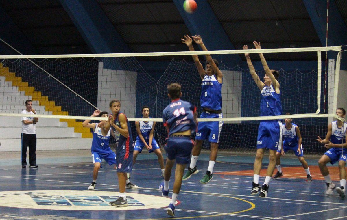 Equipe de vôlei masculino SELJ/Marília vence Oscar Bressane pela fase sub-regional dos Jogos Abertos da Juventude